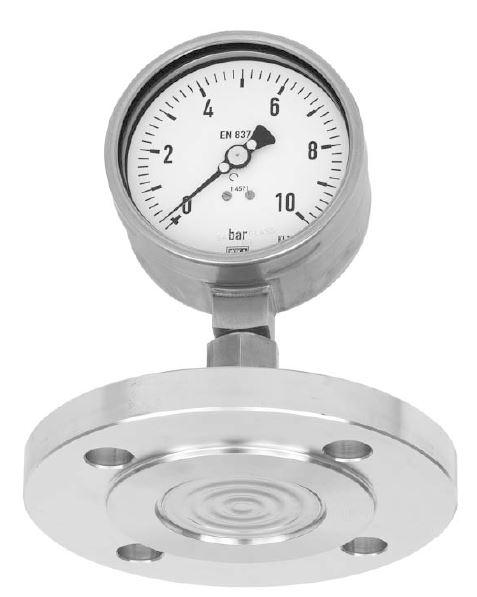 Đồng hồ đo áp suất Wika 213.53 3