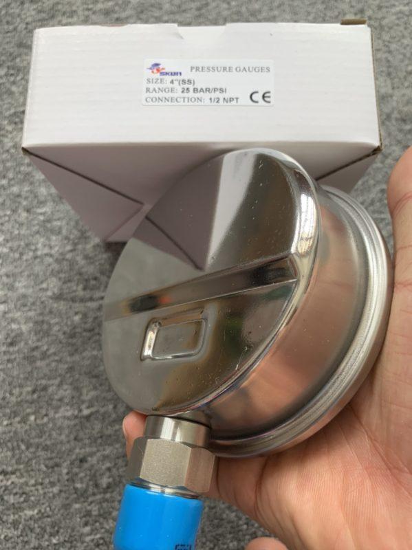 Đồng hồ do áp suất SKON 321.21 3