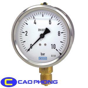 Đồng hồ đo áp suất Wika 213.53 6