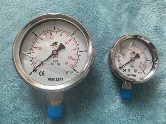 1 Số ứng dụng của đồng hồ đo áp suất Skon 2