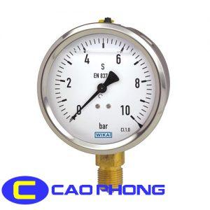 Đồng hồ đo áp suất Wika 213.53 1